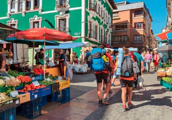Day 2 : Oviedo - Grado (25.2 km ~ 6 hours)