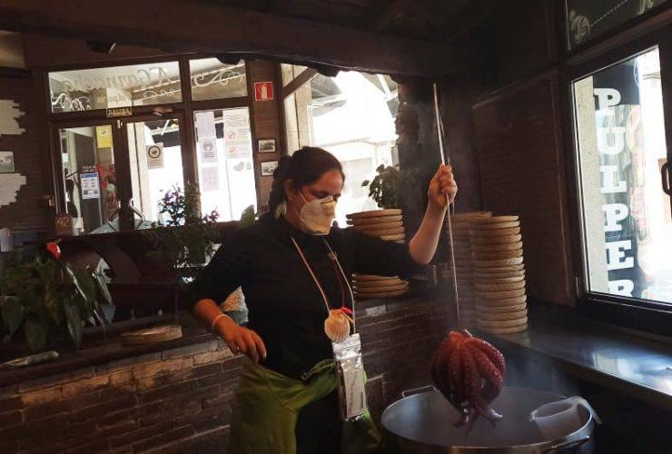Comer en Galicia en el Camino de Santiago desde Sarria y otras rutas